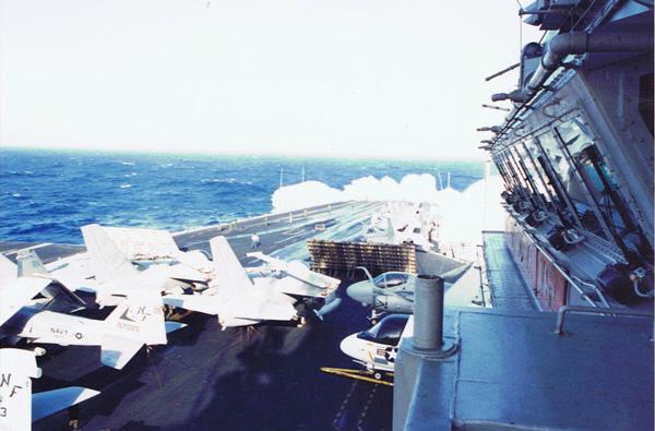 Navy-wave