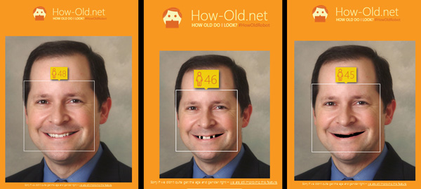 I got younger with fewer teeth!