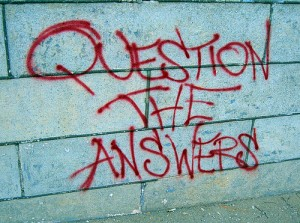 question the answers