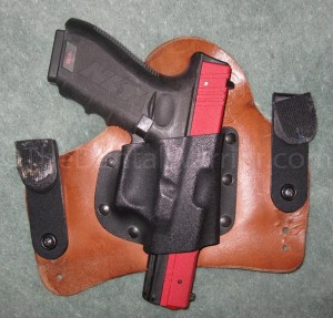 Fits perfectly in a Glock holster!