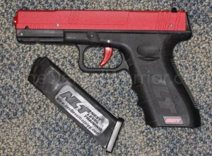 SIRT dry fire laser pistol